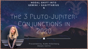 Understand the 3 Jupiter Pluto Conjunctions in Capricorn 2020 + the North Node in Gemini